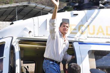 El presidente de Ecuador, Rafael Correa [Fuente: Wikipedia]